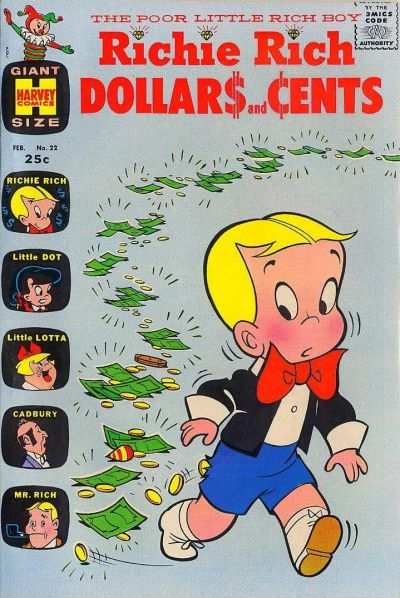 Cover for Richie Rich Dollars and Cents (Harvey, 1963 series) #22
