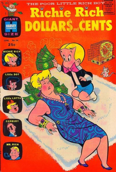 Cover for Richie Rich Dollars and Cents (Harvey, 1963 series) #24