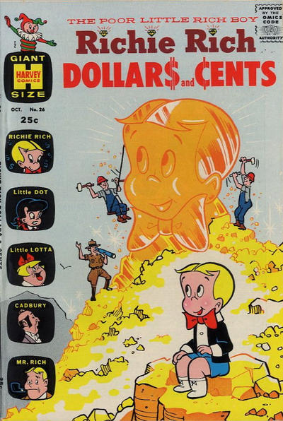 Cover for Richie Rich Dollars and Cents (Harvey, 1963 series) #26