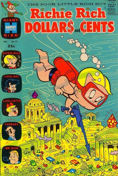 Cover for Richie Rich Dollars and Cents (Harvey, 1963 series) #27