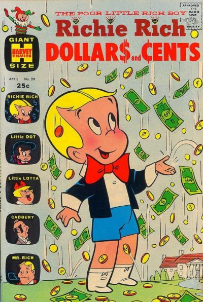 Cover for Richie Rich Dollars and Cents (Harvey, 1963 series) #29