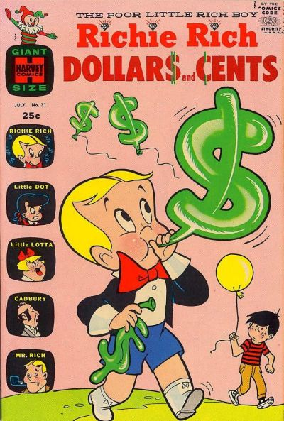 Cover for Richie Rich Dollars and Cents (Harvey, 1963 series) #31