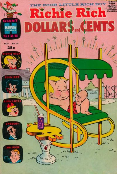 Cover for Richie Rich Dollars and Cents (Harvey, 1963 series) #39