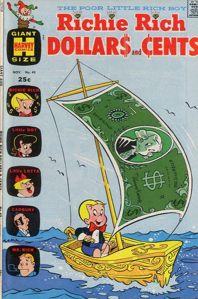 Cover for Richie Rich Dollars and Cents (Harvey, 1963 series) #45