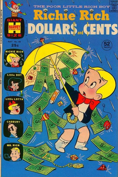 Cover for Richie Rich Dollars and Cents (Harvey, 1963 series) #48