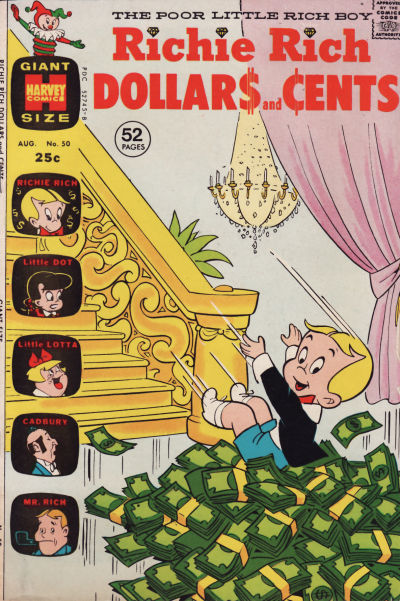 Cover for Richie Rich Dollars and Cents (Harvey, 1963 series) #50
