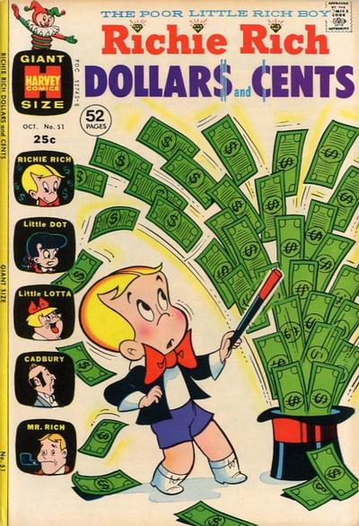 Cover for Richie Rich Dollars and Cents (Harvey, 1963 series) #51