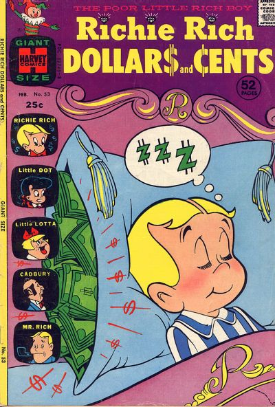 Cover for Richie Rich Dollars and Cents (Harvey, 1963 series) #53