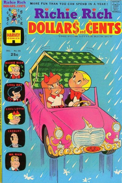 Cover for Richie Rich Dollars and Cents (Harvey, 1963 series) #64