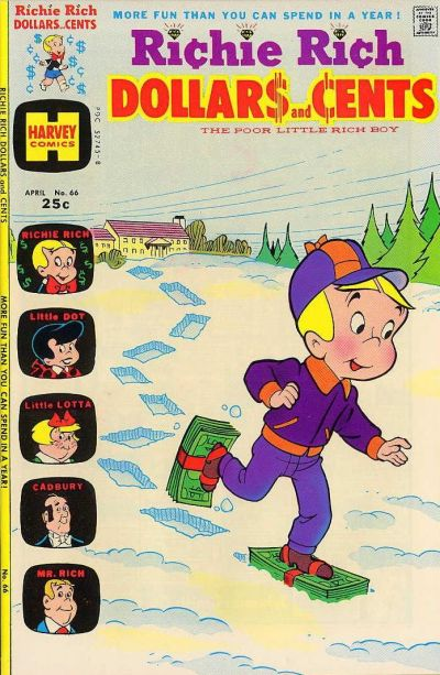 Cover for Richie Rich Dollars and Cents (Harvey, 1963 series) #66