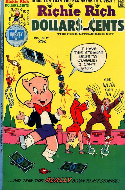 Cover for Richie Rich Dollars and Cents (Harvey, 1963 series) #69