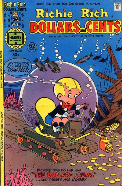 Cover for Richie Rich Dollars and Cents (Harvey, 1963 series) #81