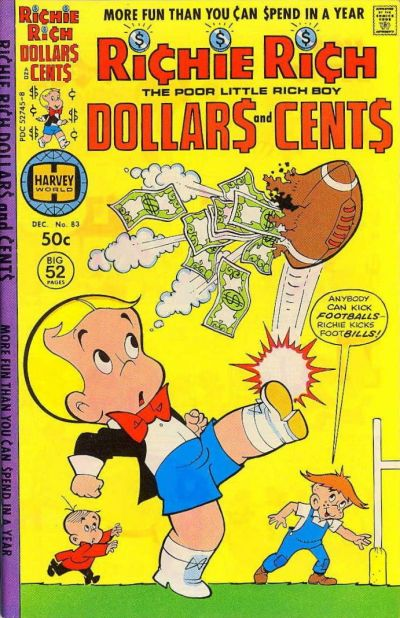 Cover for Richie Rich Dollars and Cents (Harvey, 1963 series) #83