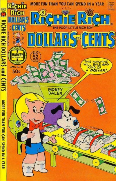 Cover for Richie Rich Dollars and Cents (Harvey, 1963 series) #85