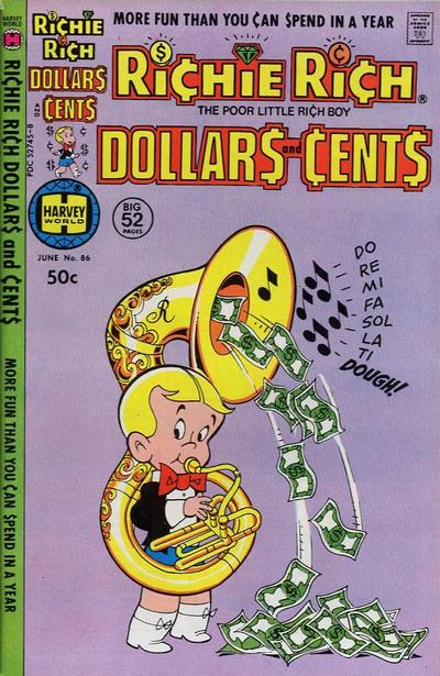Cover for Richie Rich Dollars and Cents (Harvey, 1963 series) #86