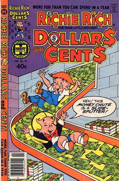 Cover for Richie Rich Dollars and Cents (Harvey, 1963 series) #95