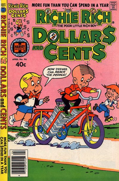 Cover for Richie Rich Dollars and Cents (Harvey, 1963 series) #96
