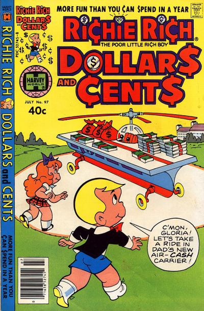 Cover for Richie Rich Dollars and Cents (Harvey, 1963 series) #97