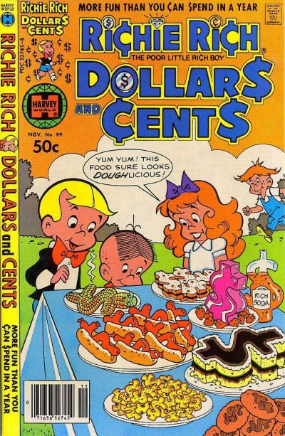 Cover for Richie Rich Dollars and Cents (Harvey, 1963 series) #99