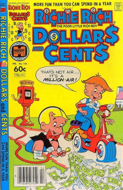 Cover for Richie Rich Dollars and Cents (Harvey, 1963 series) #106