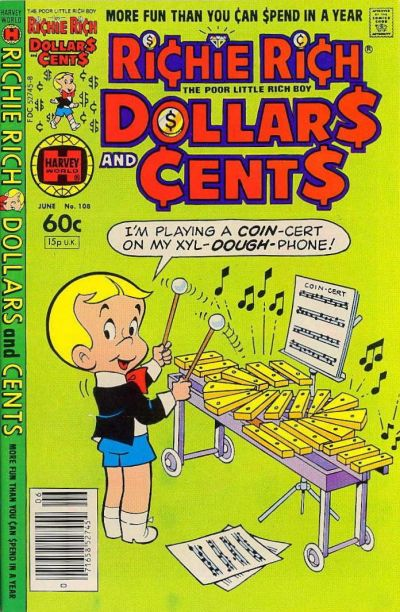 Cover for Richie Rich Dollars and Cents (Harvey, 1963 series) #108