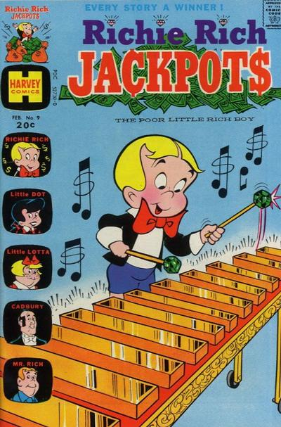 Cover for Richie Rich Jackpots (Harvey, 1972 series) #9