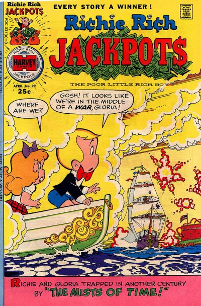 Cover for Richie Rich Jackpots (Harvey, 1972 series) #22