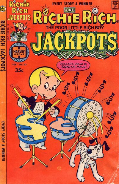 Cover for Richie Rich Jackpots (Harvey, 1972 series) #33