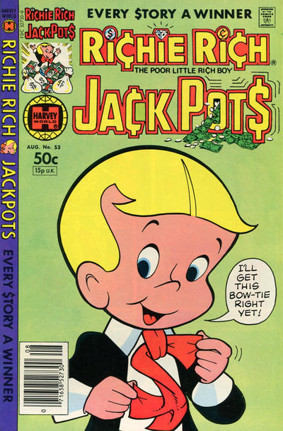 Cover for Richie Rich Jackpots (Harvey, 1972 series) #53