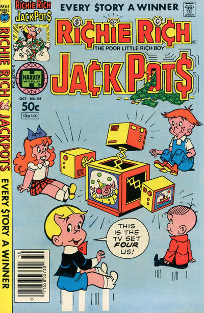 Cover for Richie Rich Jackpots (Harvey, 1972 series) #54
