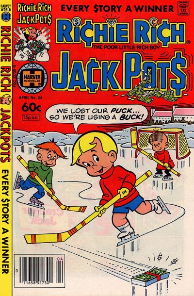 Cover for Richie Rich Jackpots (Harvey, 1972 series) #56