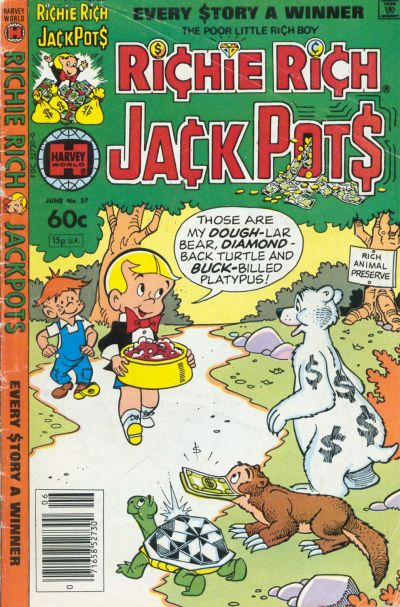Cover for Richie Rich Jackpots (Harvey, 1972 series) #57
