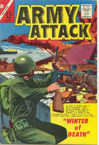 Cover for Army Attack (Charlton, 1964 series) #4