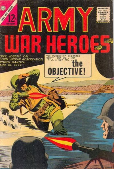 Cover for Army War Heroes (Charlton, 1963 series) #2