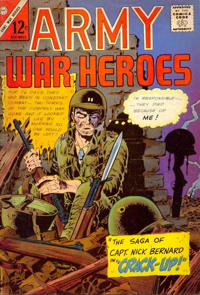 Cover for Army War Heroes (Charlton, 1963 series) #11