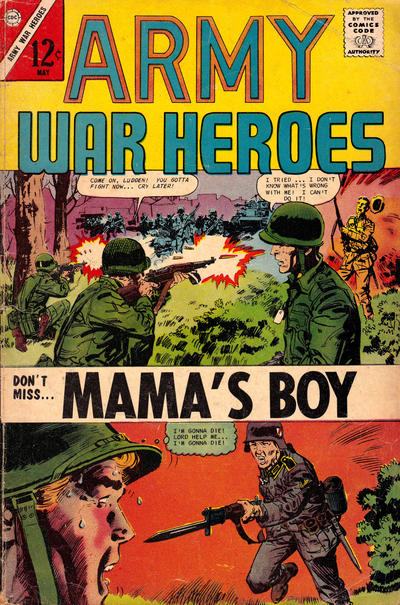 Cover for Army War Heroes (Charlton, 1963 series) #19