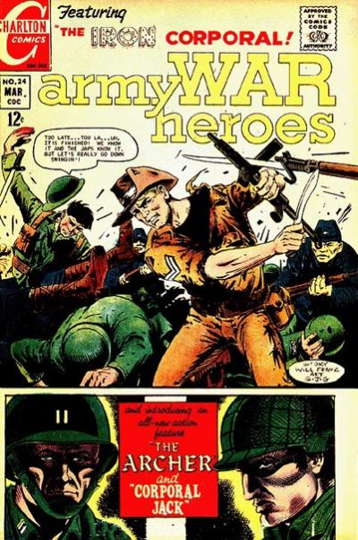 Cover for Army War Heroes (Charlton, 1963 series) #24