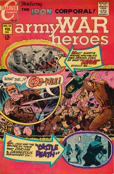 Cover for Army War Heroes (Charlton, 1963 series) #30