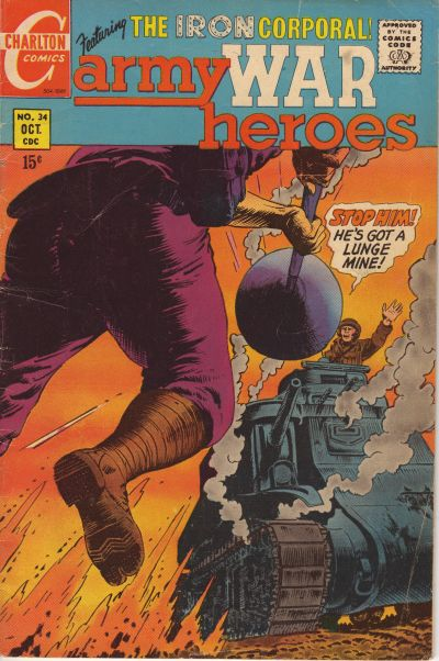 Cover for Army War Heroes (Charlton, 1963 series) #34