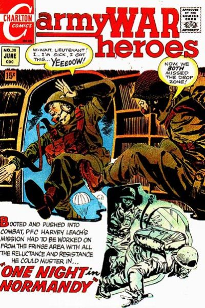 Cover for Army War Heroes (Charlton, 1963 series) #38