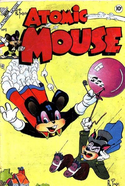 Cover for Atomic Mouse (Charlton, 1953 series) #5