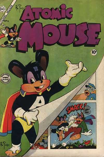 Cover for Atomic Mouse (Charlton, 1953 series) #6