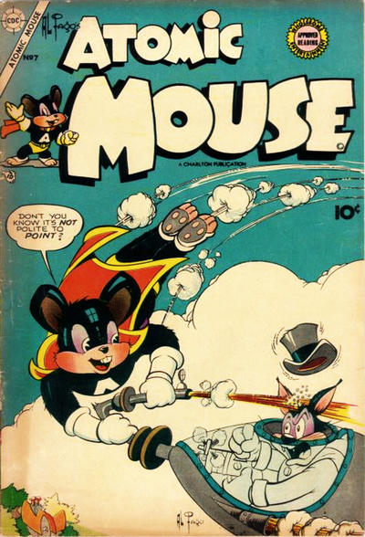 Cover for Atomic Mouse (Charlton, 1953 series) #7