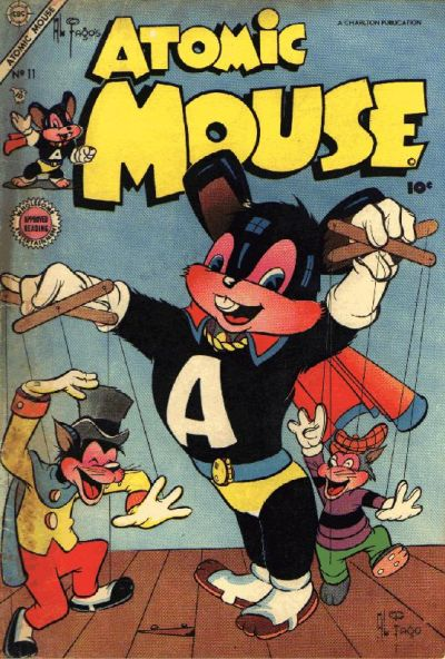Cover for Atomic Mouse (Charlton, 1953 series) #11