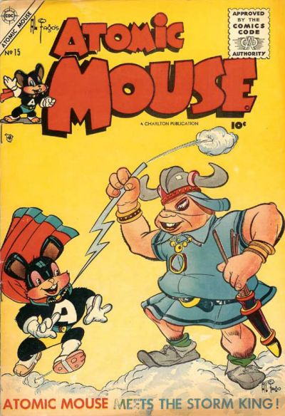Cover for Atomic Mouse (Charlton, 1953 series) #15