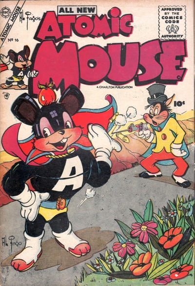 Cover for Atomic Mouse (Charlton, 1953 series) #16