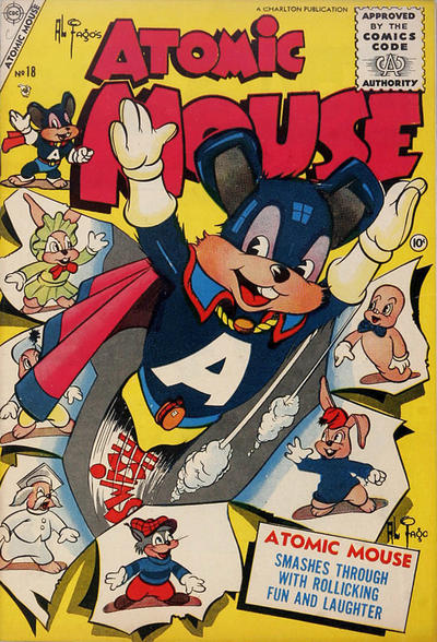 Cover for Atomic Mouse (Charlton, 1953 series) #18