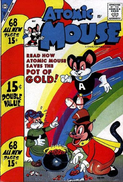 Cover for Atomic Mouse (Charlton, 1953 series) #26