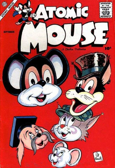 Cover for Atomic Mouse (Charlton, 1953 series) #27