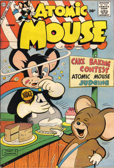 Cover for Atomic Mouse (Charlton, 1953 series) #29